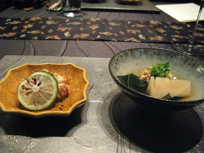 lattume di merluzzo, Ryugin, Chef Seiji Yamamoto, Tokyo