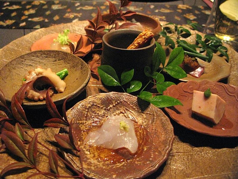 sashimi, Ryugin, Chef Seiji Yamamoto, Tokyo