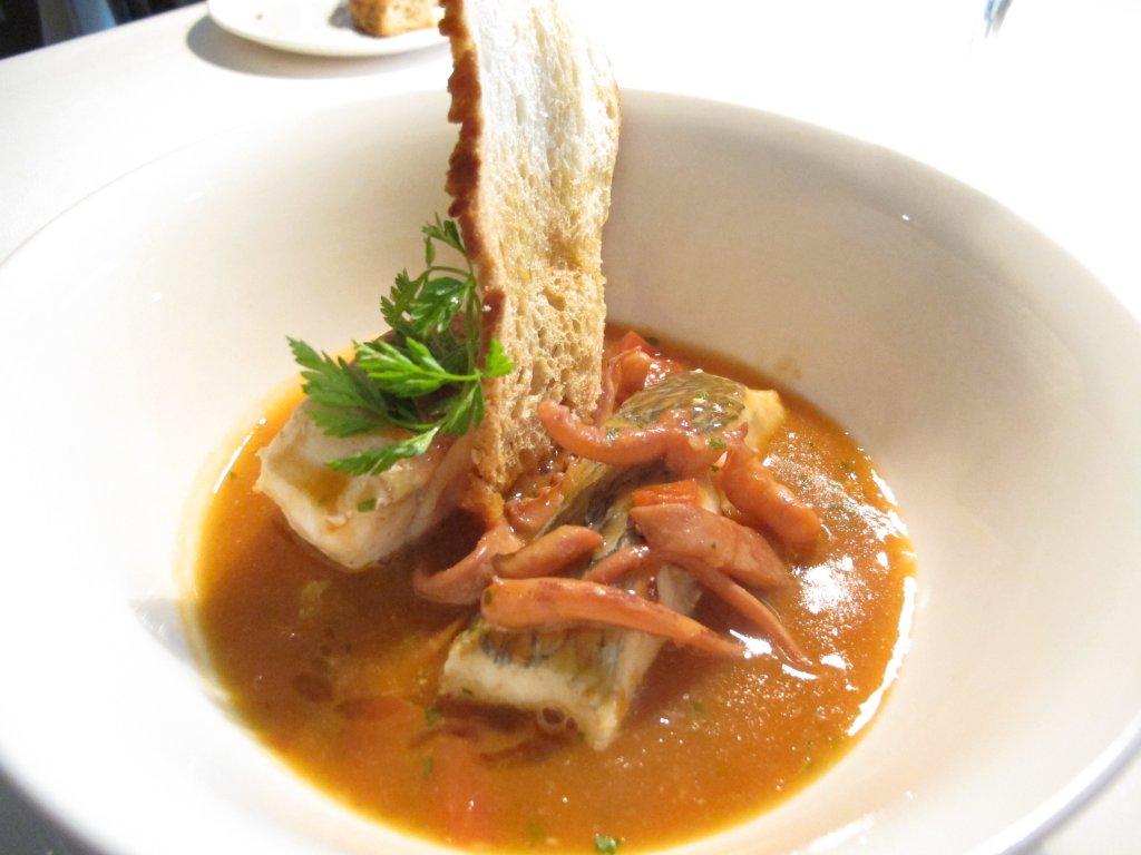 zuppa di pesce, Il Saraceno, Chef Roberto Proto, Caveranno, Bergamo