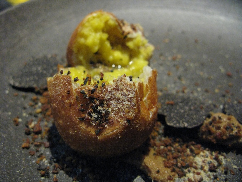 potato and butter, Takazawa, Chef Yoshiaki Takazawa, Tokyo
