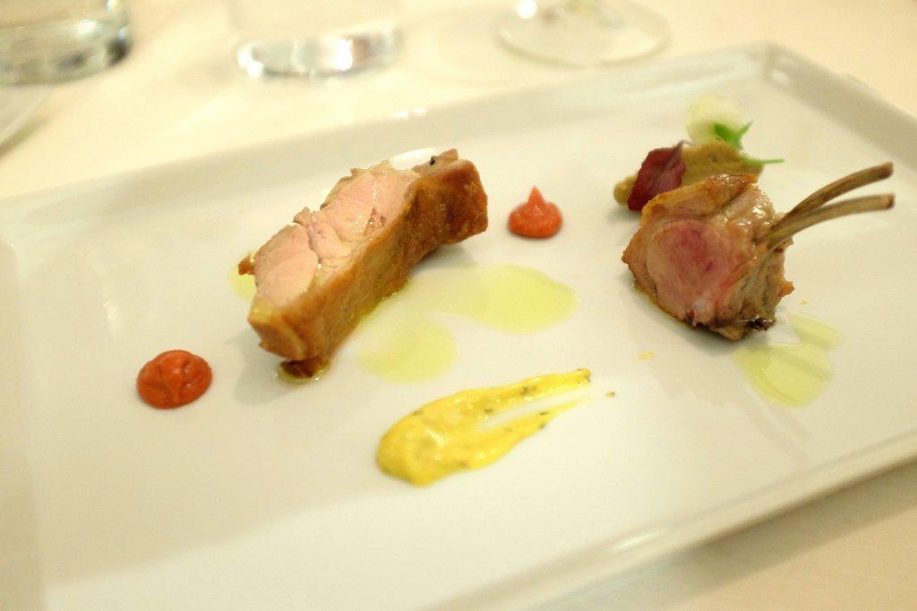 agnello e purea, Osteria Arbustico, Chef Cristian Torsiello, Valva, Salerno