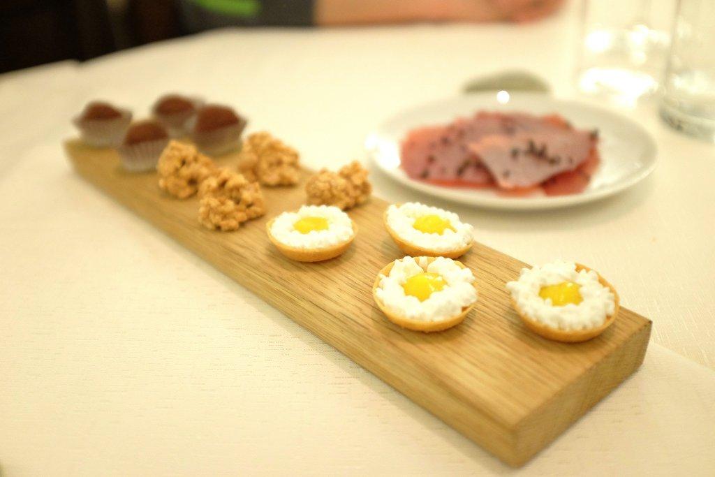 piccola pasticceria, Osteria Arbustico, Chef Cristian Torsiello, Valva, Salerno