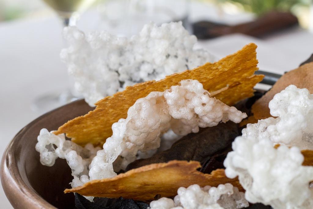 quinoa soffiata, Lido 84, Chef Riccardo Camanini, Gardone Riviera, Brescia
