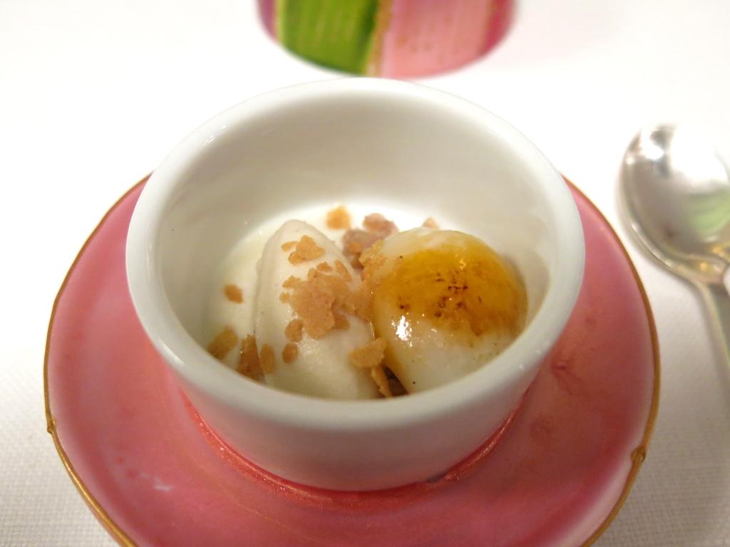 uovo di quaglia caramellato, Il Pagliaccio, Chef Anthony Genovese, Roma