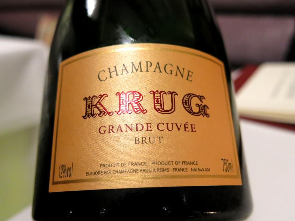 Champagne, Krug, Il Pagliaccio, Chef Anthony Genovese, Roma