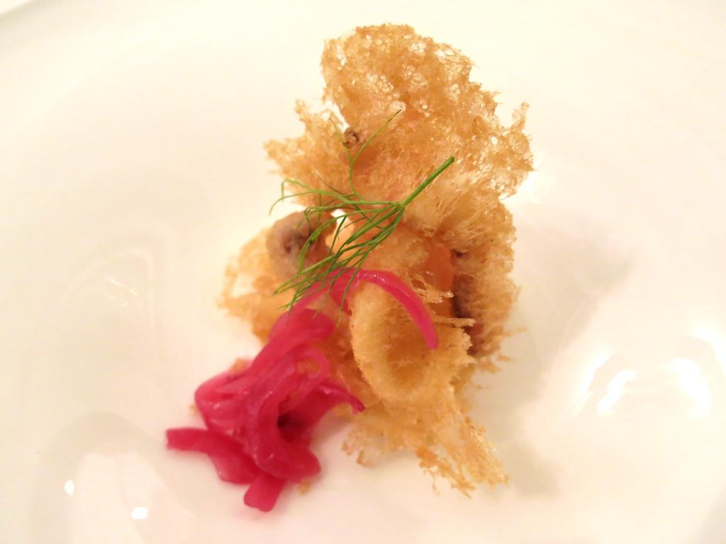 Calmati in tempura, Pascucci al Porticciolo, Chef Gianfranco Pascucci, Fiumicino