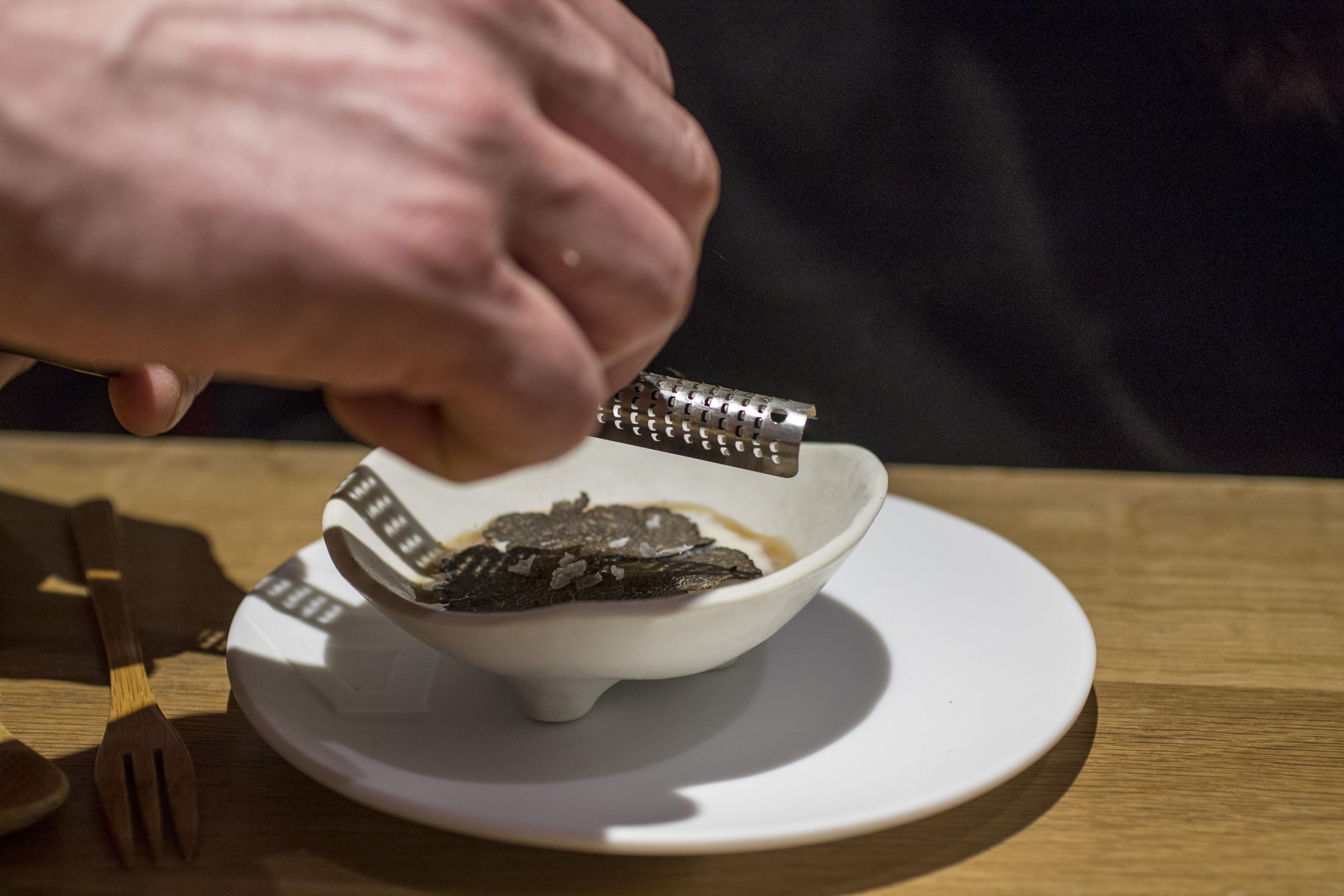 Wasabi cristallizato, Pakta, Chef Albert Adrià, Kyoko li, Barcelona