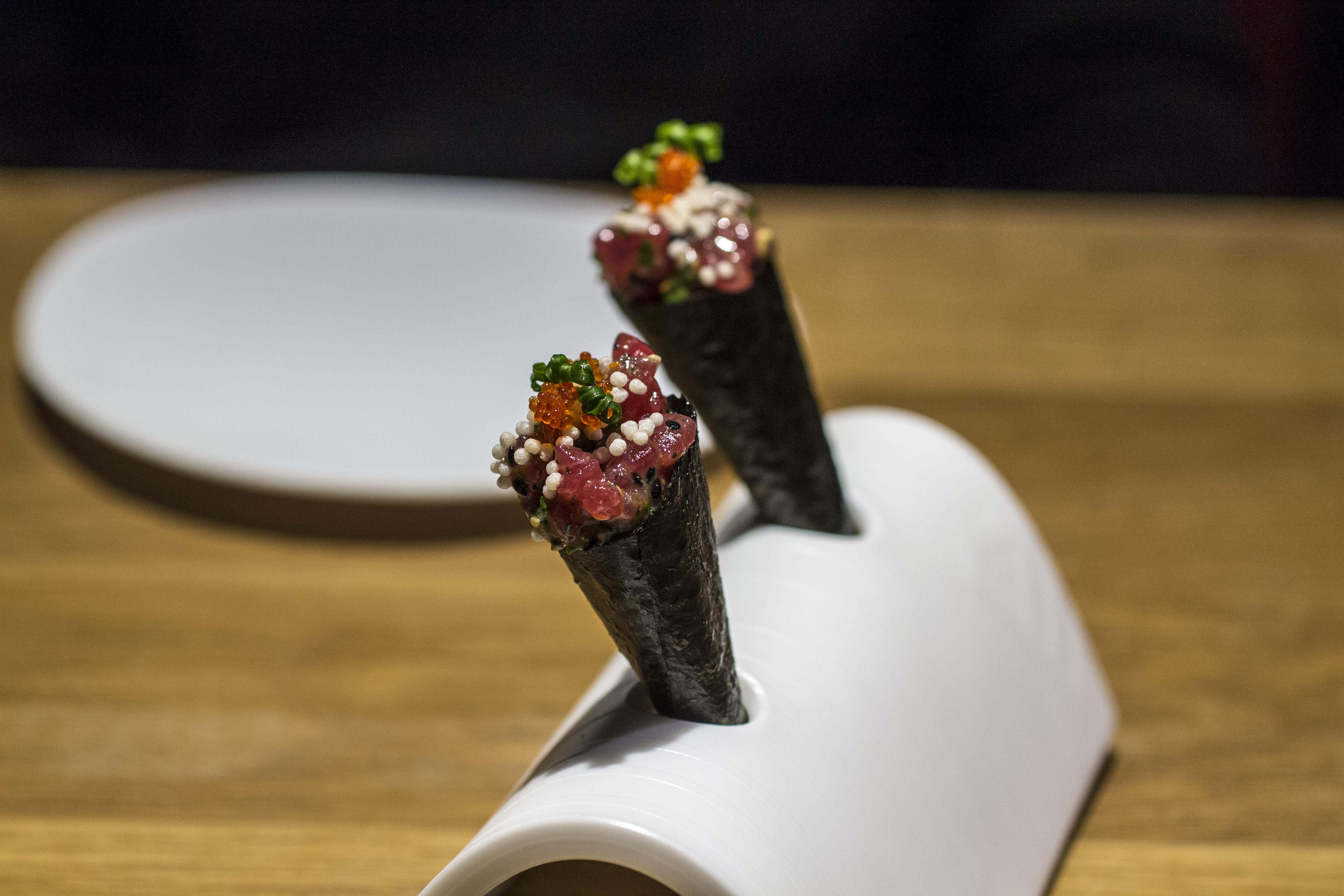 Temaki, Pakta, Chef Albert Adrià, Kyoko li, Barcelona