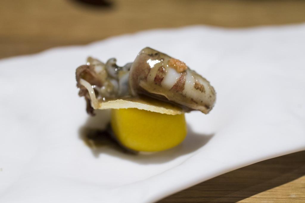 Calamaretto, Pakta, Chef Albert Adrià, Kyoko li, Barcelona