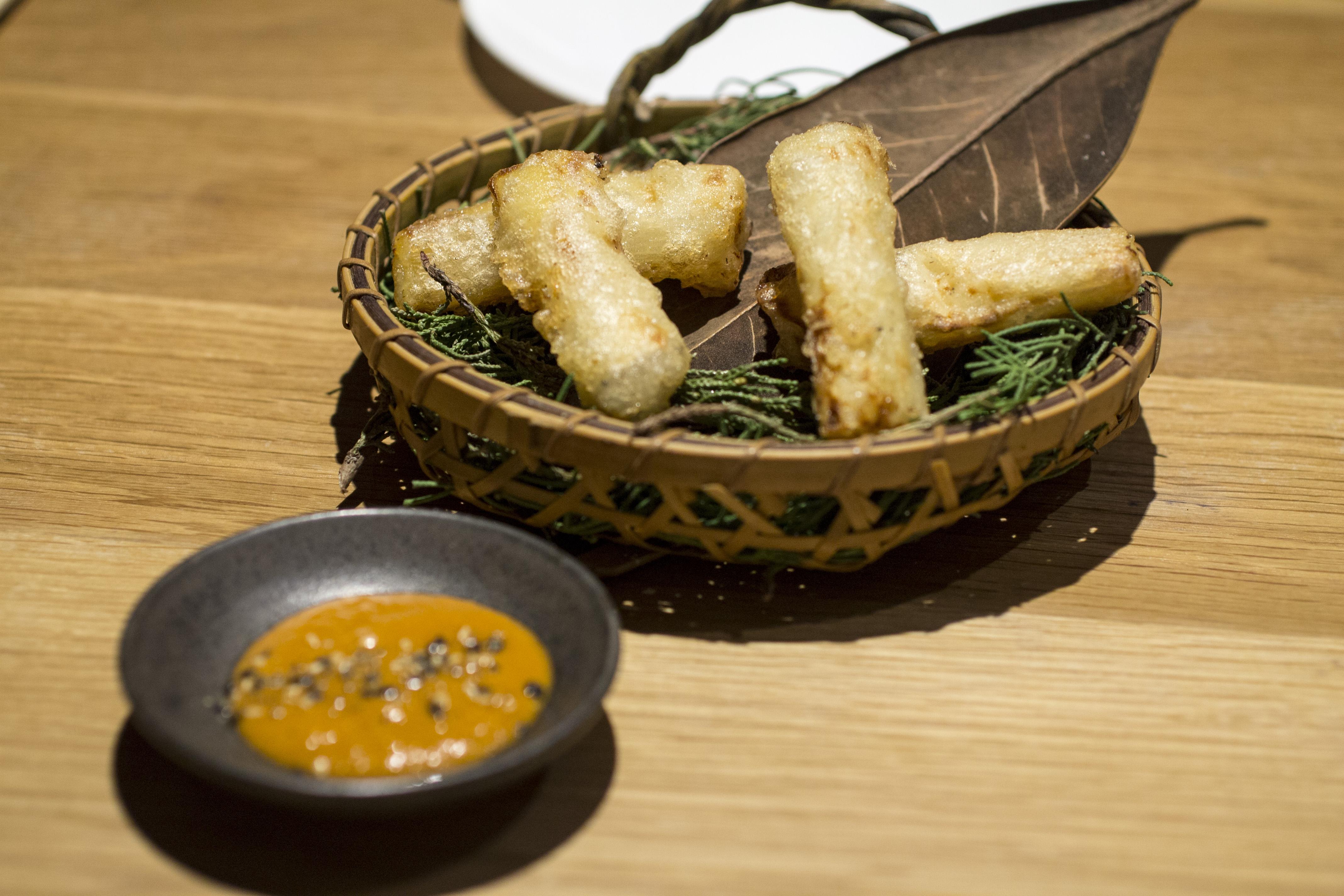 tempura, Pakta, Chef Albert Adrià, Kyoko li, Barcelona