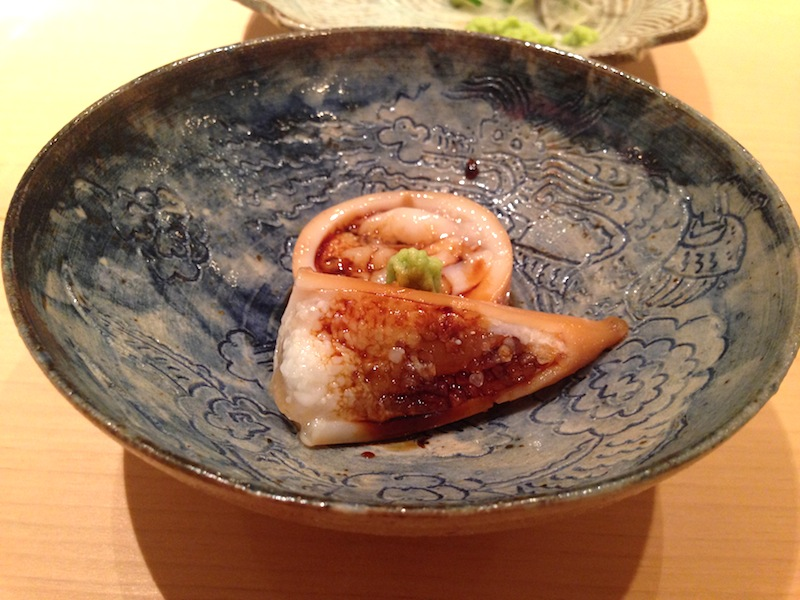 seppia ripiena, Sushi Yoshitake, Chef Masahiro Yoshitake, Tokyo