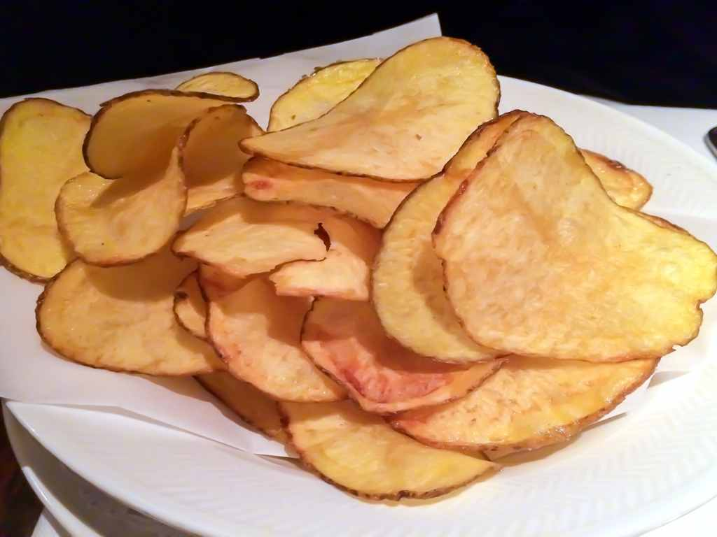 chips, Langosteria 10, Milano