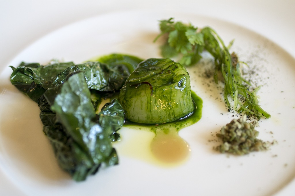 Insalata di rinforzo, Acquerello, Chef Silvio Salmoiraghi, Fagnano Olona, Varese