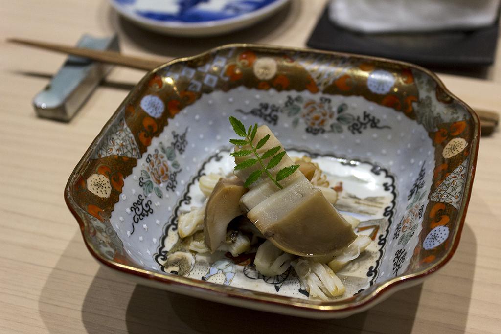 Abalone, The Araki, Chef Mitsuhiro Araki, London