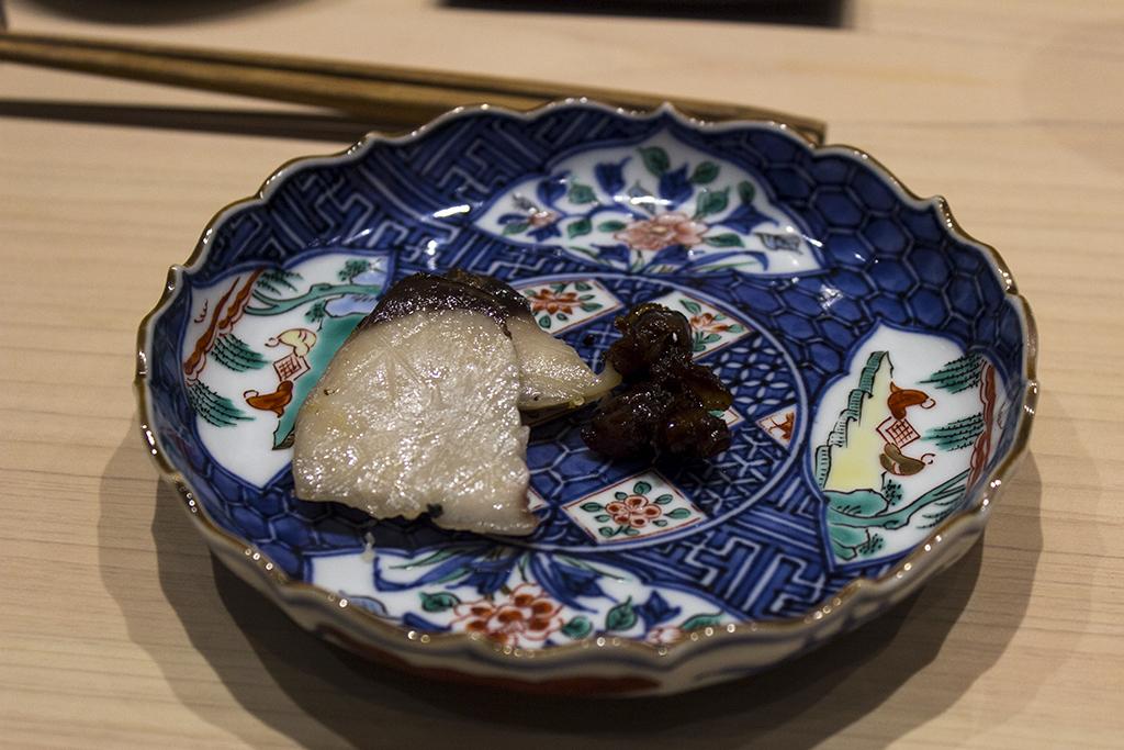 Ricciola Marinata, The Araki, Chef Mitsuhiro Araki, London