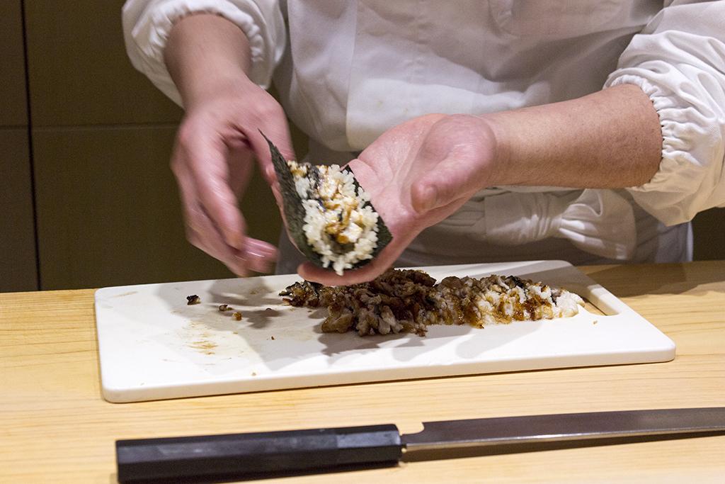 anno roll, The Araki, Chef Mitsuhiro Araki, London