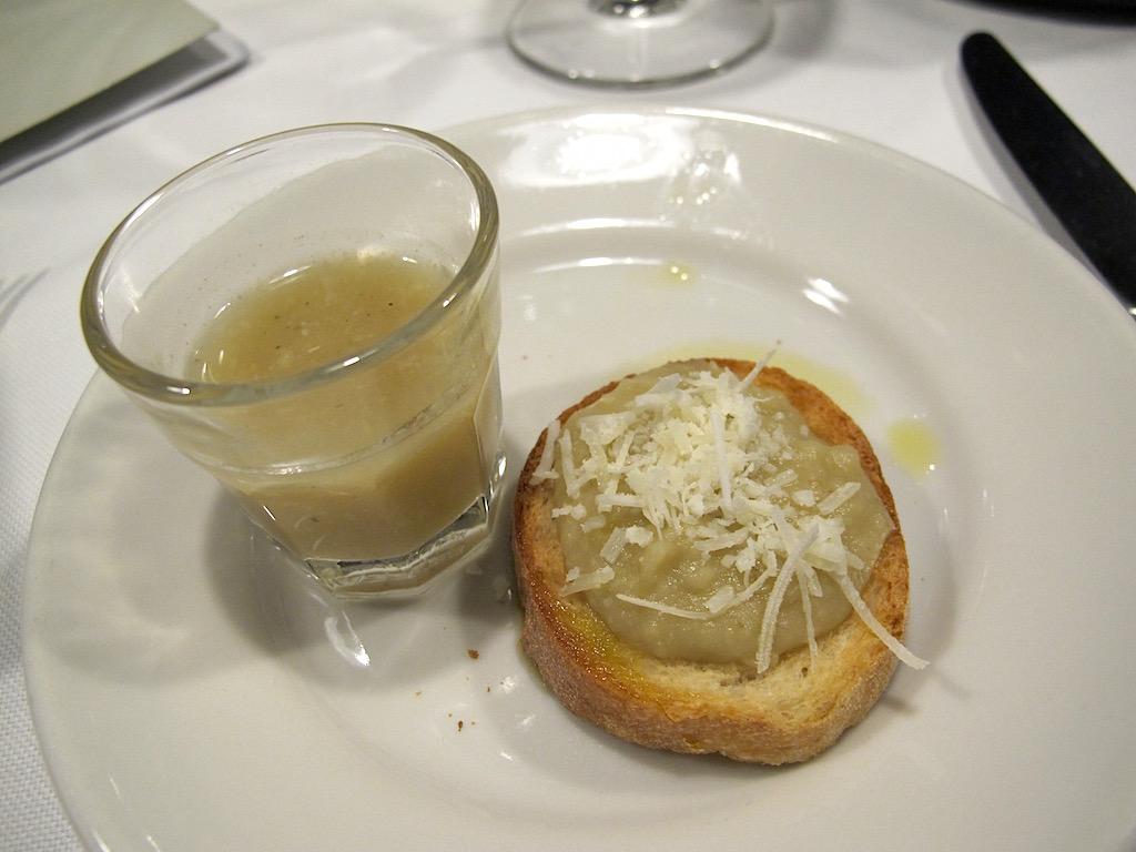 amuse bouche, Asino d'Oro, Chef Lucio Sforza, Roma