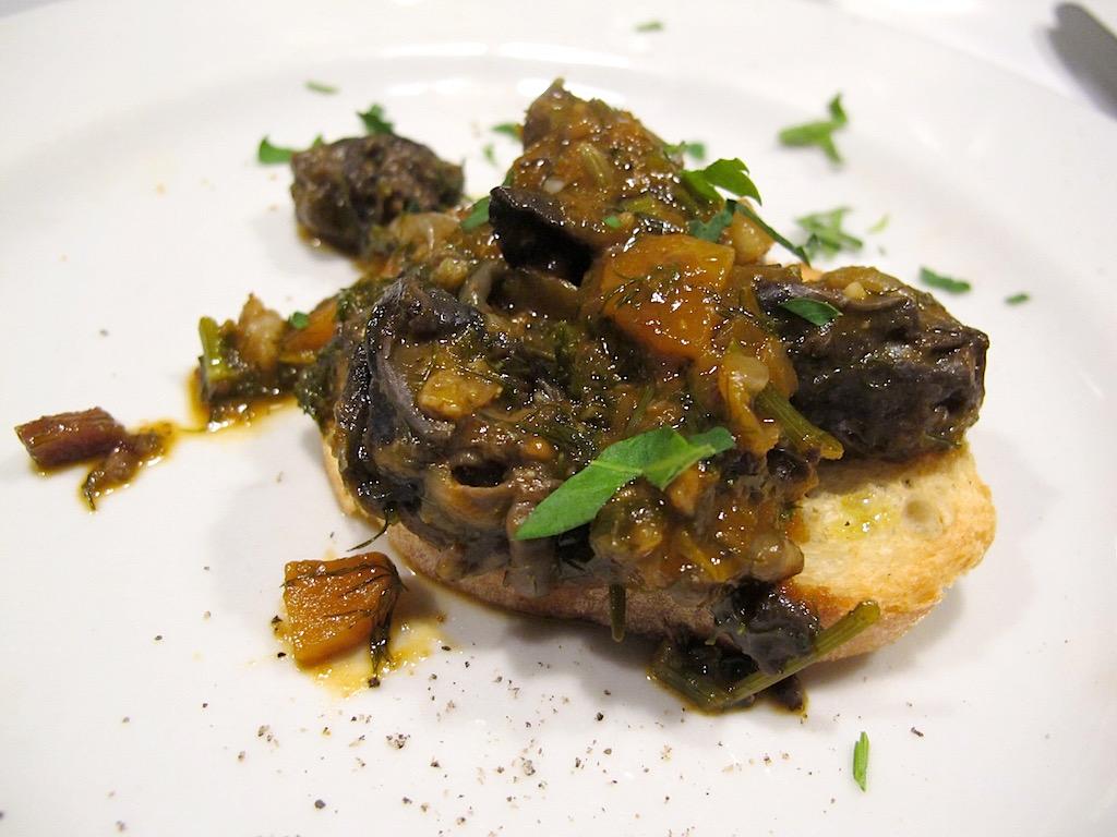 Lumache in salsa, Asino d'Oro, Chef Lucio Sforza, Roma