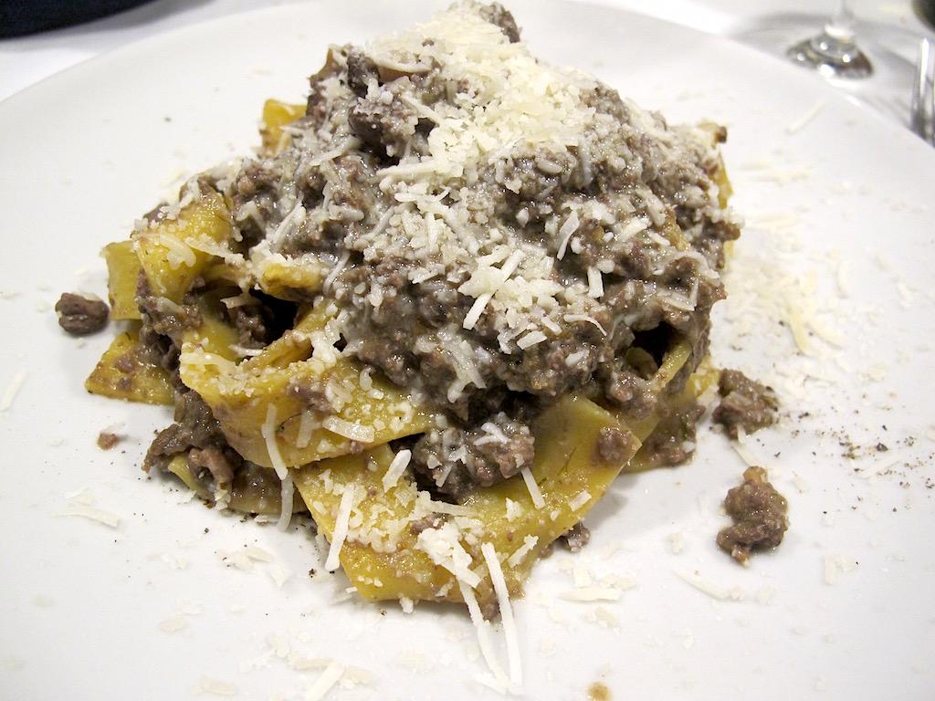 pappardelle, Asino d'Oro, Chef Lucio Sforza, Roma