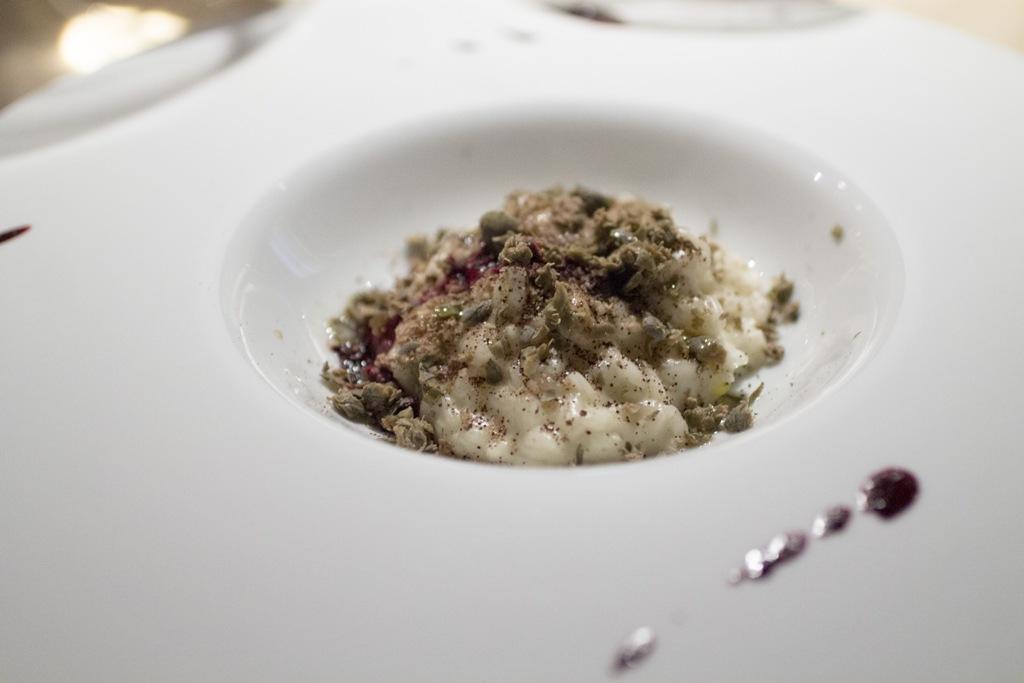risotto all'olio, Le Calandre, Chef Massimiliano Alajmo, Sarmeola di Rubano, Padova