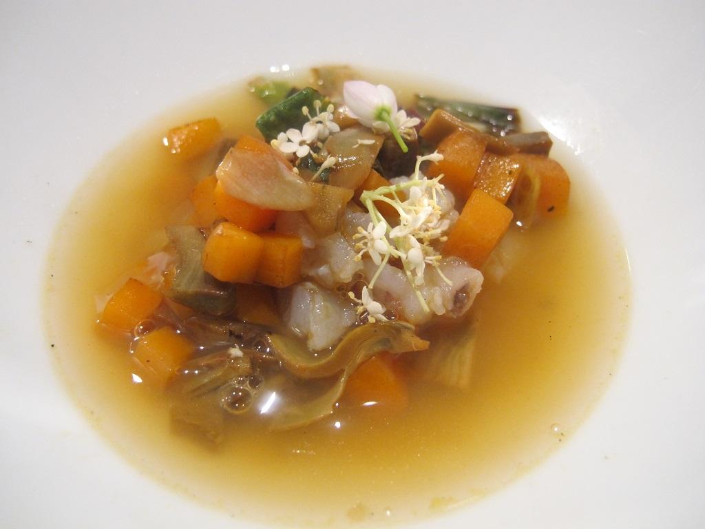 Zuppa di pesce, L'Imbuto, Chef Cristiano Tomei, Lucca