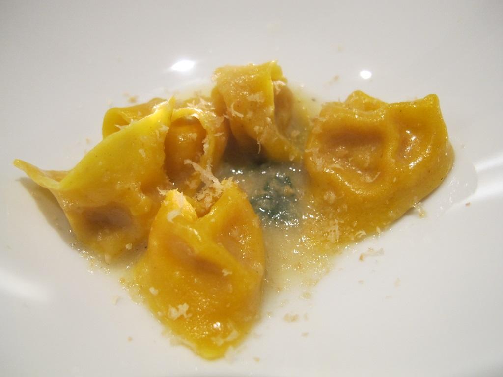 Tortellini di mortadella, L'Imbuto, Chef Cristiano Tomei, Lucca