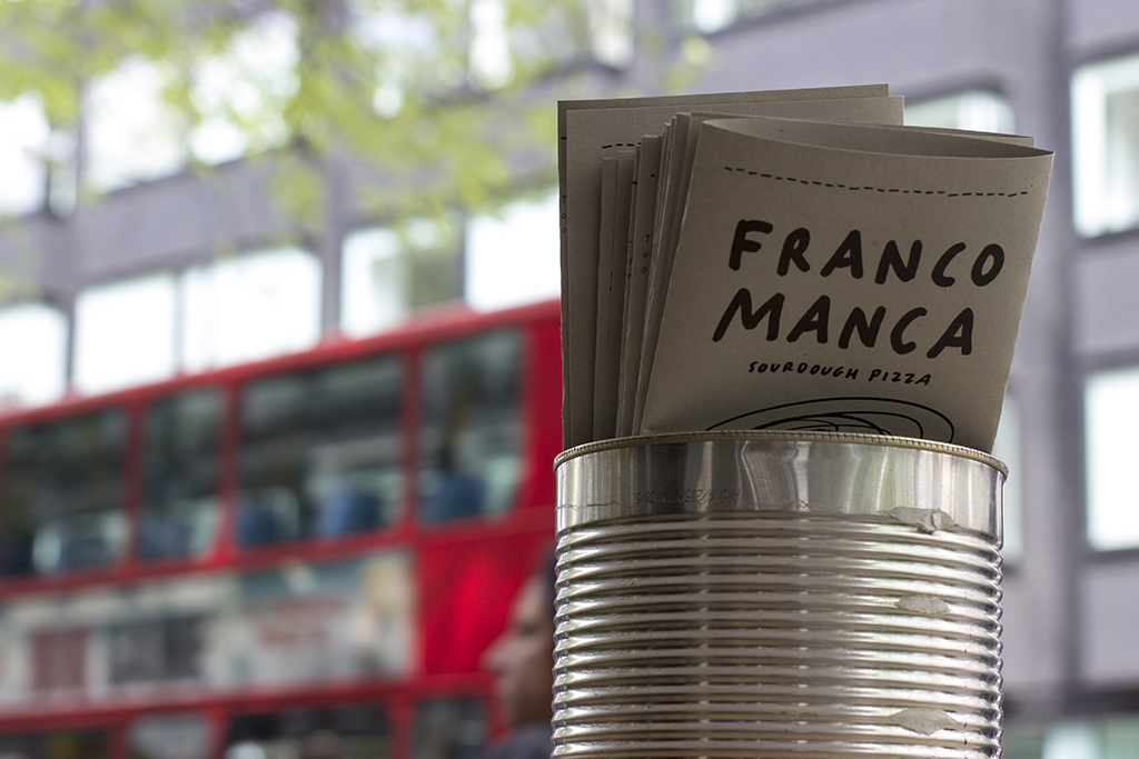 Franco Manca Pizzeria, Fitzrovia, London