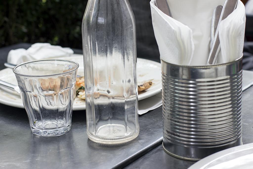 tavolino, Franco Manca Pizzeria, Fitzrovia, London