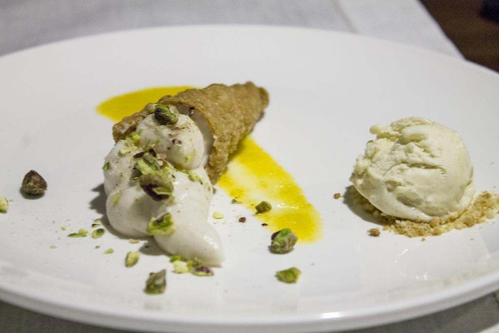 Pre dessert, Hotel Signum, Chef Martina Caruso, Malfa