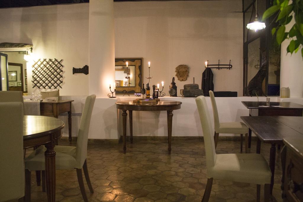 sala interna, Hotel Signum, Chef Martina Caruso, Malfa