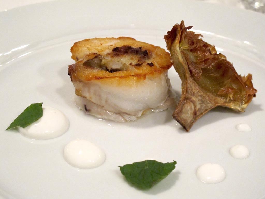 filetto di pesce spatola,  Il Tino, Chef Daniele Usai, Lido di Ostia, Roma