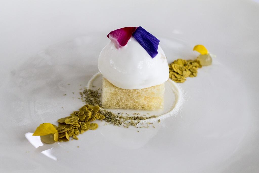 Gelato di bucherello, Uliassi, Chef Mauro Uliassi, Senigallia