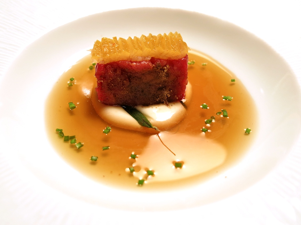 Crudo di carne, Casa Vissani, Chef Gianfranco Vissani, Civitella del lago, Baschi