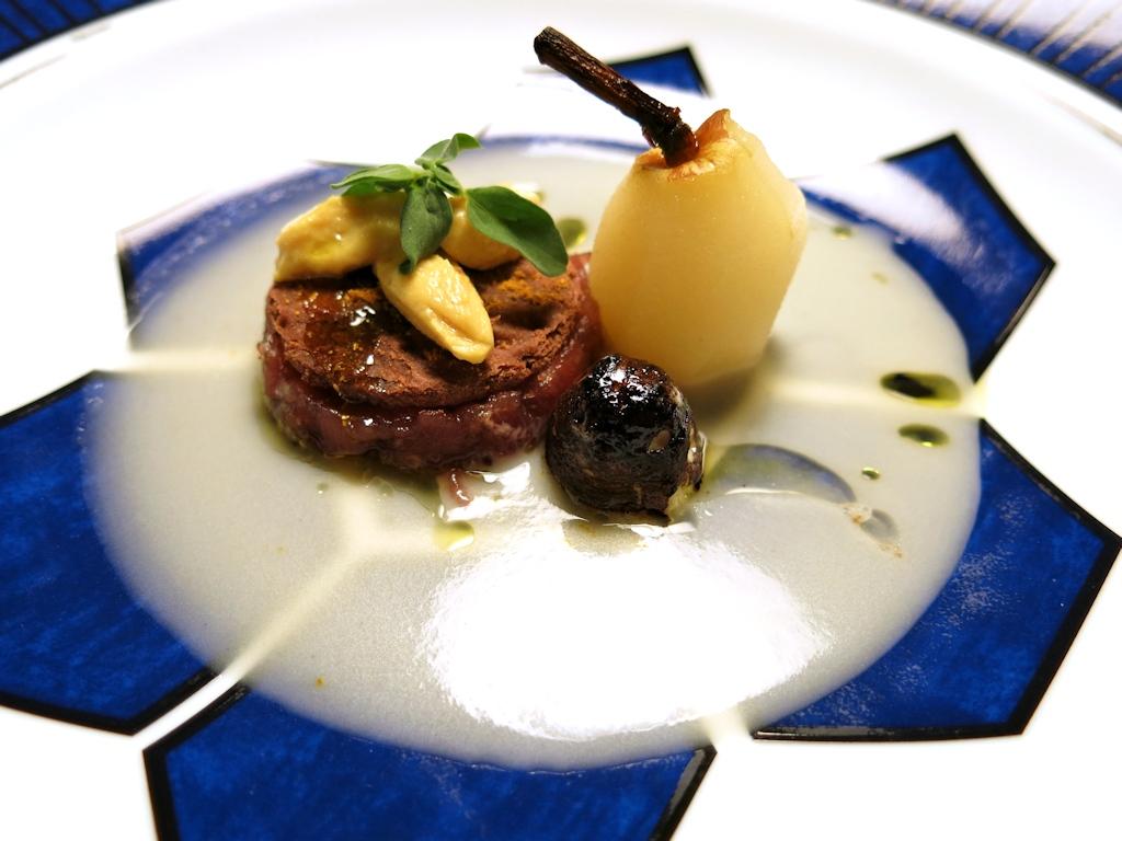 zuppa di pera kaiser, Casa Vissani, Chef Gianfranco Vissani, Civitella del lago, Baschi