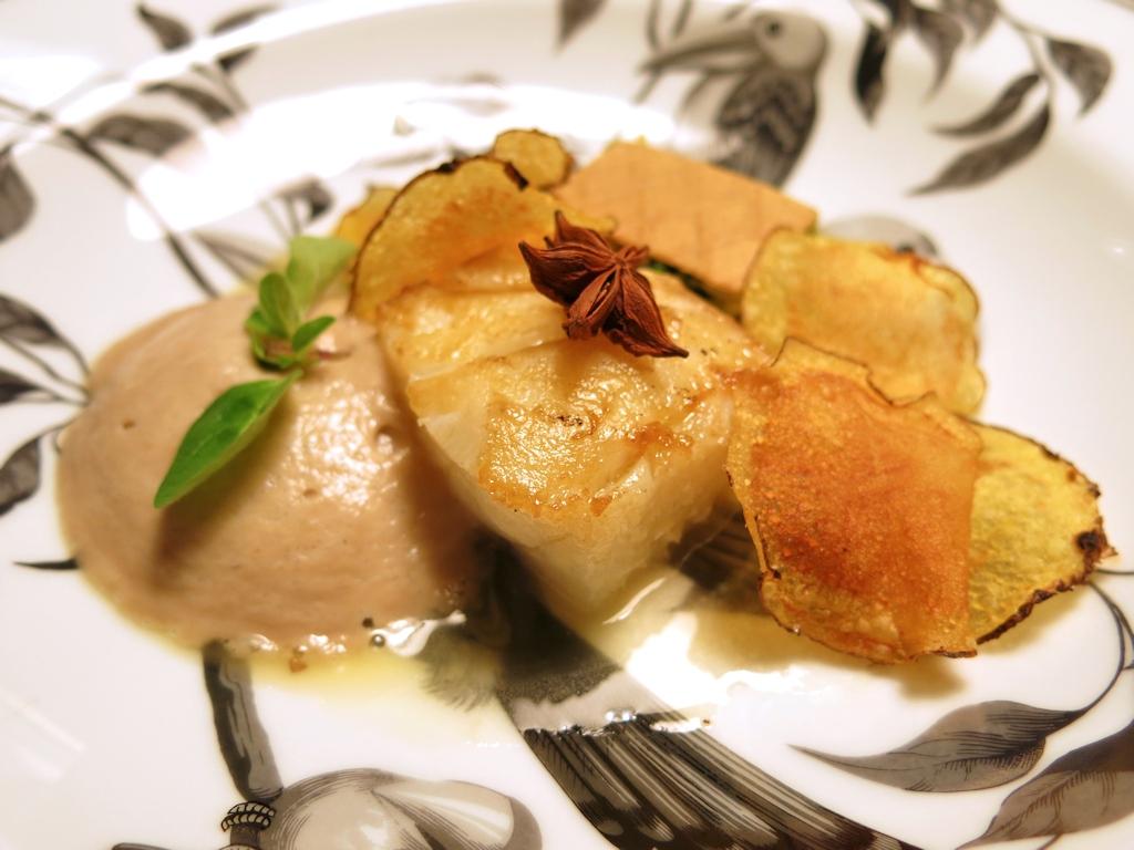 Baccalà marinato, Casa Vissani, Chef Gianfranco Vissani, Civitella del lago, Baschi