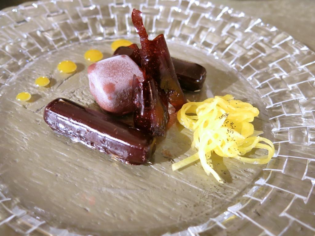 mango alla resina, Casa Vissani, Chef Gianfranco Vissani, Civitella del lago, Baschi