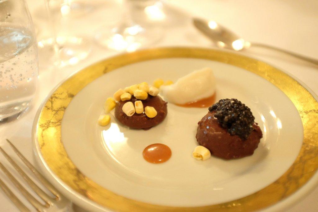 bonet Caviale, Del Cambio, Chef Matteo Baronetto, Torino
