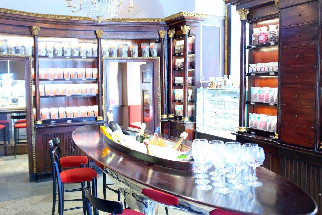 ingresso farmacia, Del Cambio, Chef Matteo Baronetto, Torino