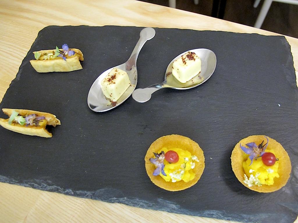 petit fours, Osteria Fernanda, Chef Davide Del Duca, Roma