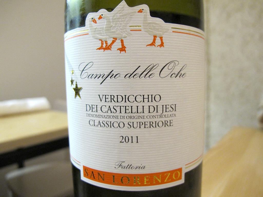 vino, verdicchio, Osteria Fernanda, Chef Davide Del Duca, Roma