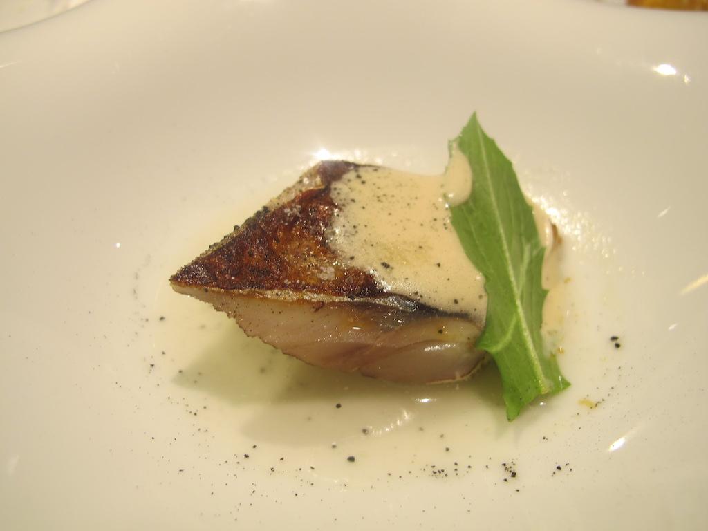 Sgombro, La Gattabuia, Chef Andrea Giuseppucci, Tolentino, Marche