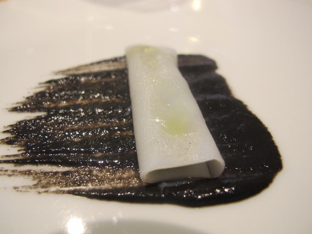 Insalata di seppia, La Gattabuia, Chef Andrea Giuseppucci, Tolentino, Marche