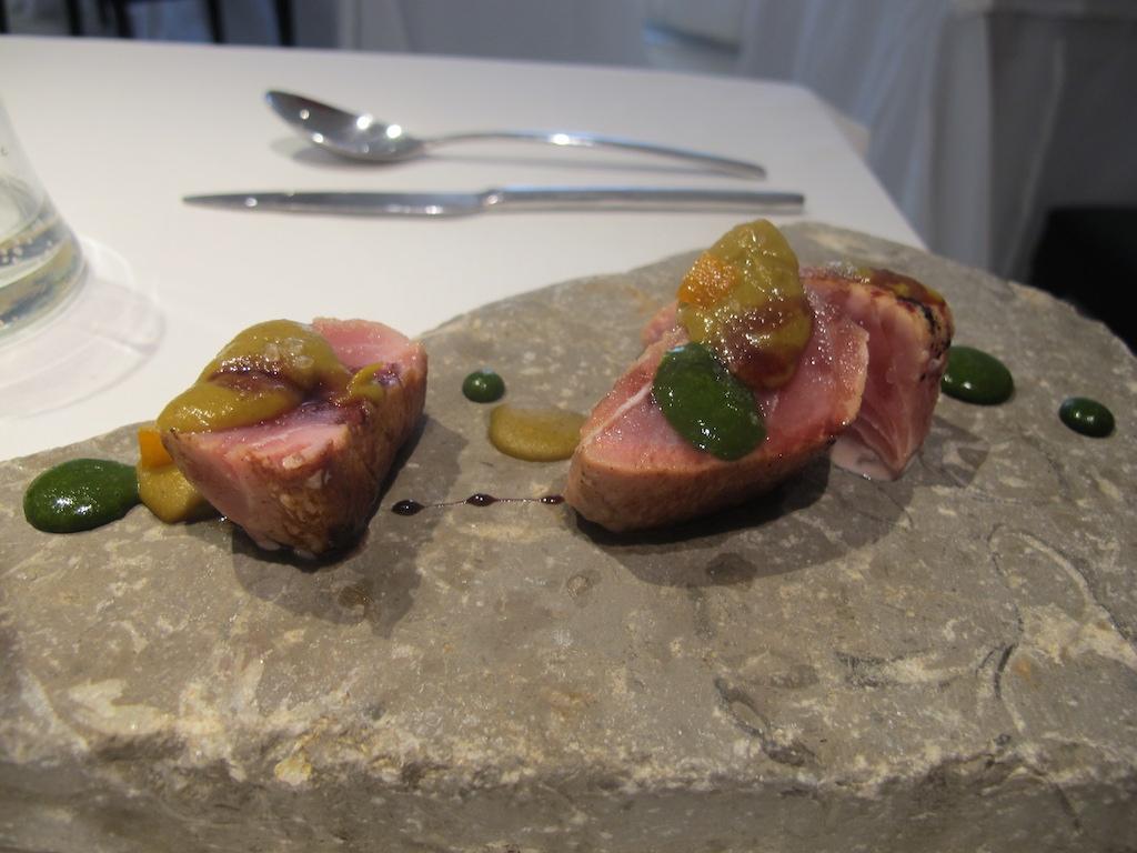 filetto di tonno, La Gattabuia, Chef Andrea Giuseppucci, Tolentino, Marche