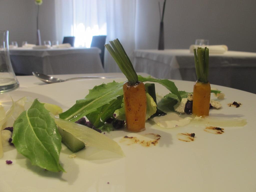 insalata mista, La Gattabuia, Chef Andrea Giuseppucci, Tolentino, Marche