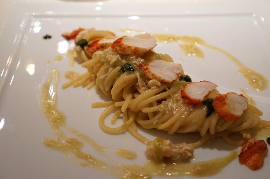 Spaghetti quadrati, Perbellini, Chef Francesco Baldissarutti, Isola Rizza, Verona