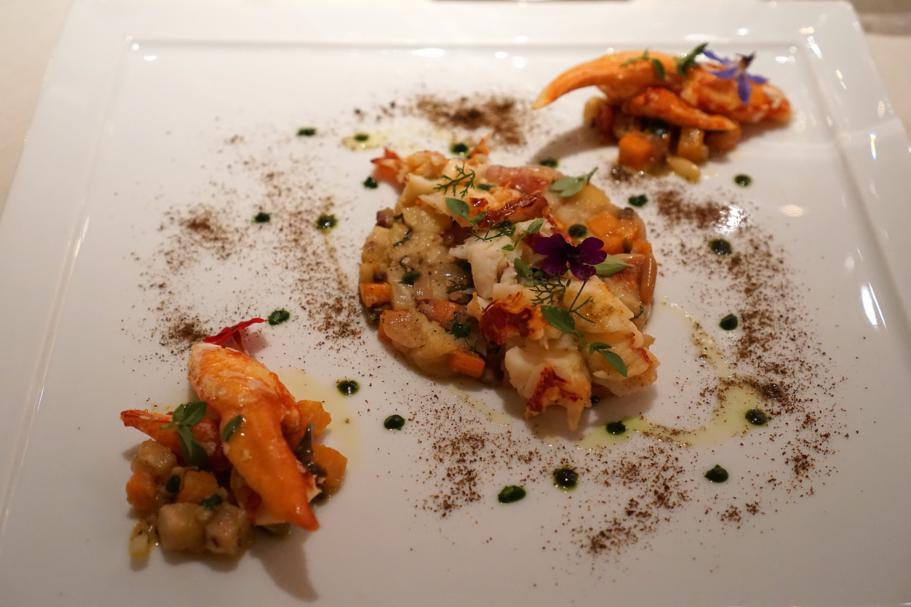 Astice Blu, Perbellini, Chef Francesco Baldissarutti, Isola Rizza, Verona