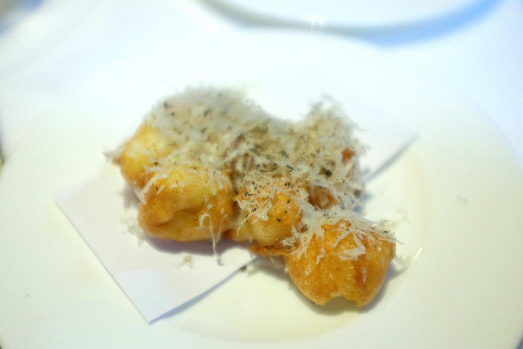 gnocchi di riso al cacio e pepe, Tre Cristi, Chef Paolo Lopriore, Milano