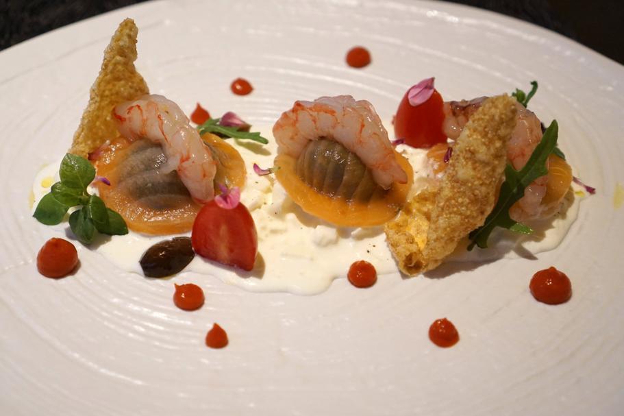 Salmone, erette, L'Chimpl, Chef Stefano Ghetta, Hotel Gran Mugon, Tamion ,Vigo di Fassa