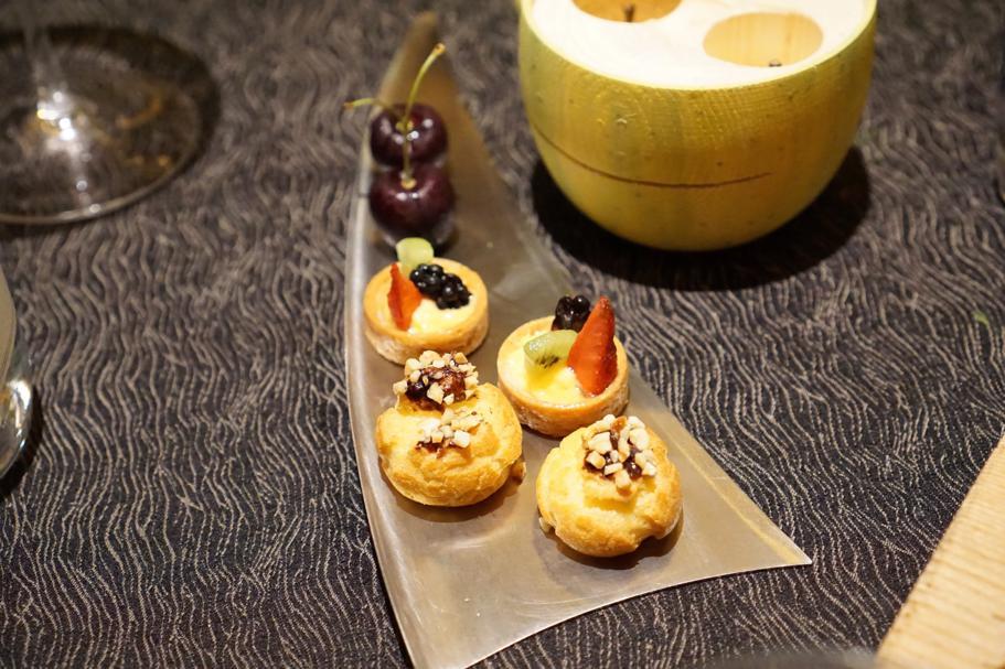 piccola pasticceria, L'Chimpl, Chef Stefano Ghetta, Hotel Gran Mugon, Tamion ,Vigo di Fassa