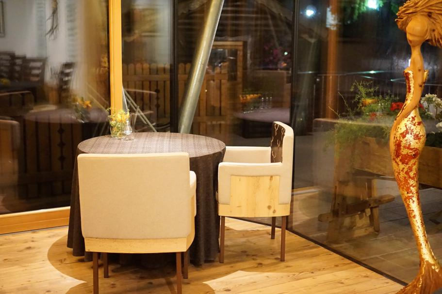 L'Chimpl, Chef Stefano Ghetta, Hotel Gran Mugon, Tamion ,Vigo di Fassa
